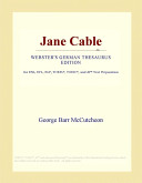 Jane Cable (Webster's German Thesaurus Edition)