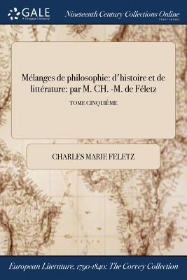 Mélanges de philosophie