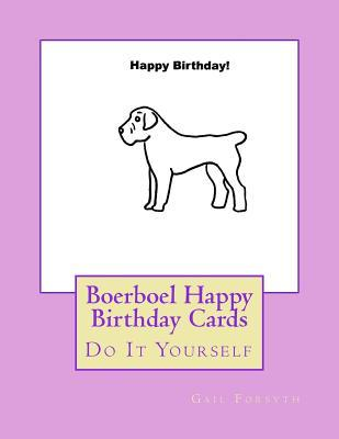 Boerboel Happy Birthday Cards