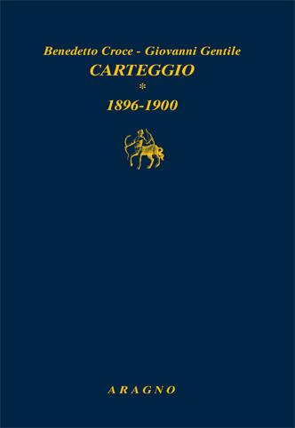 Carteggio - Vol. 1