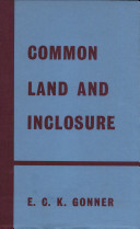 Common Land and Inclosure