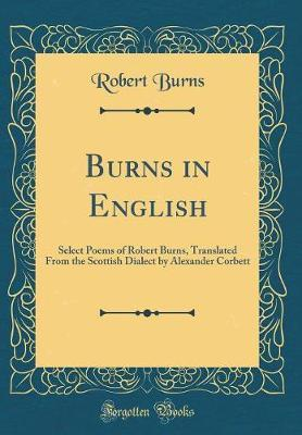Burns in English