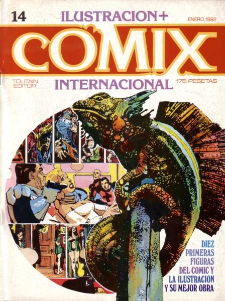 Ilustración + Comix Internacional #14