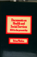 Documents on Health and Social Services