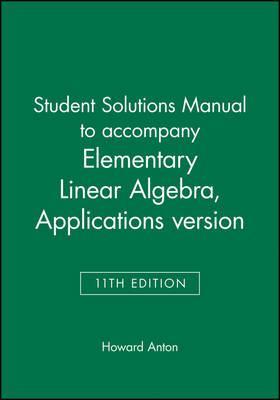 Elementary Linear Algebra and Elementary Linear Algebra