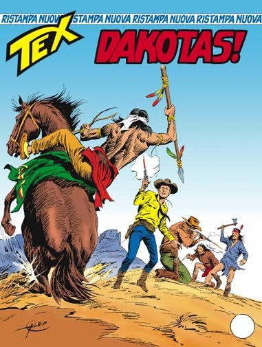Tex nuova ristampa n. 196