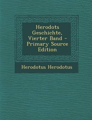 Herodots Geschichte, Vierter Band