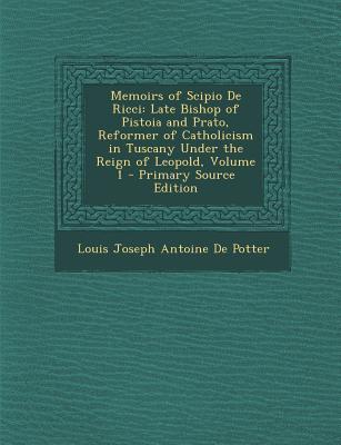 Memoirs of Scipio de Ricci