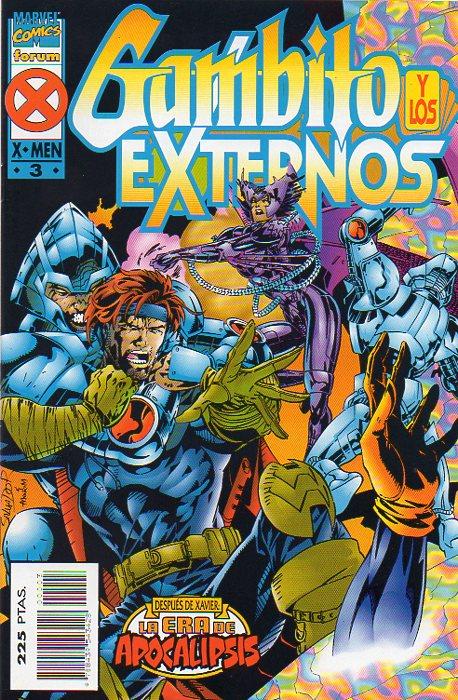 Gambito y los Externos Vol.1 #3 (de 4)
