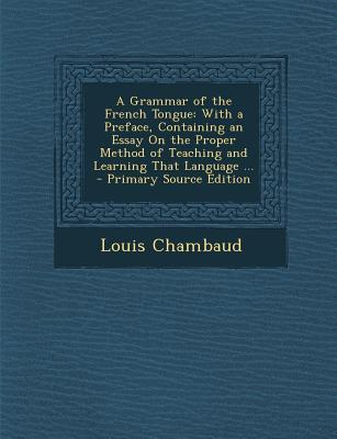 A Grammar of the Fre...