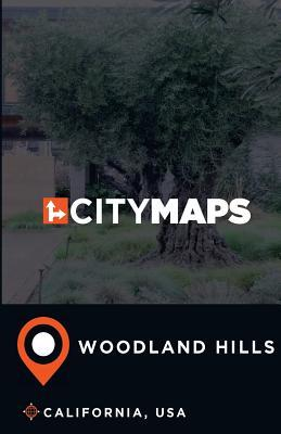 City Maps Woodland Hills California, USA