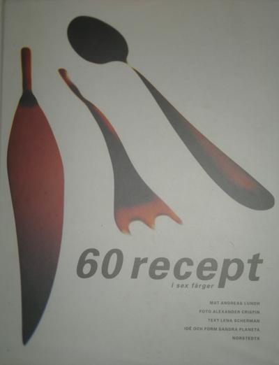 60 recept i sex färger