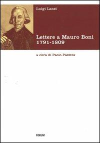 Lettere a Mauro Boni 1791-1809