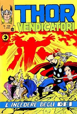 Thor e i Vendicatori (Il Mitico Thor) n. 108