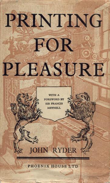 Printing for Pleasure