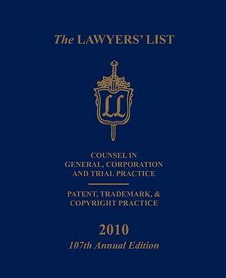 The Lawyers' List 2010