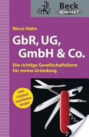 GbR, UG, GmbH and Co.