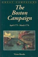 The Boston campaign