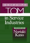 Guide to TQM in service industries