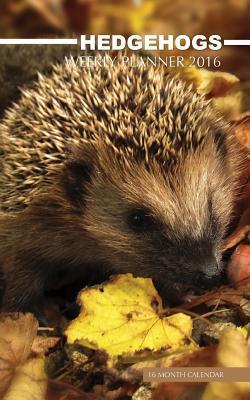 Hedgehogs Weekly Planner 2016