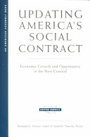 Updating America's Social Contract