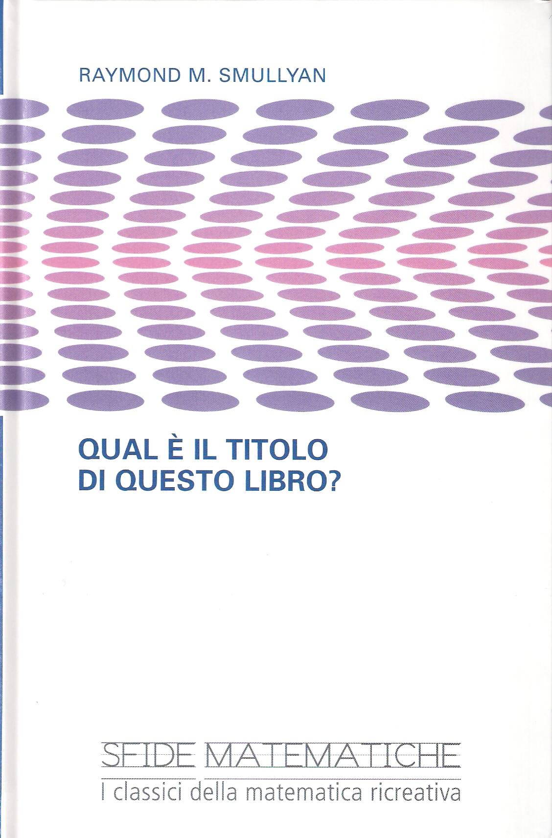 Qual è il titolo di questo libro?