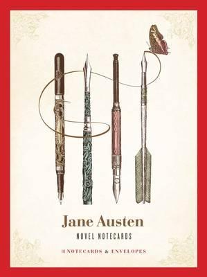 Jane Austen Novel Notecards