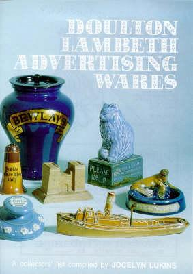 Doulton Lambeth Advertising Wares