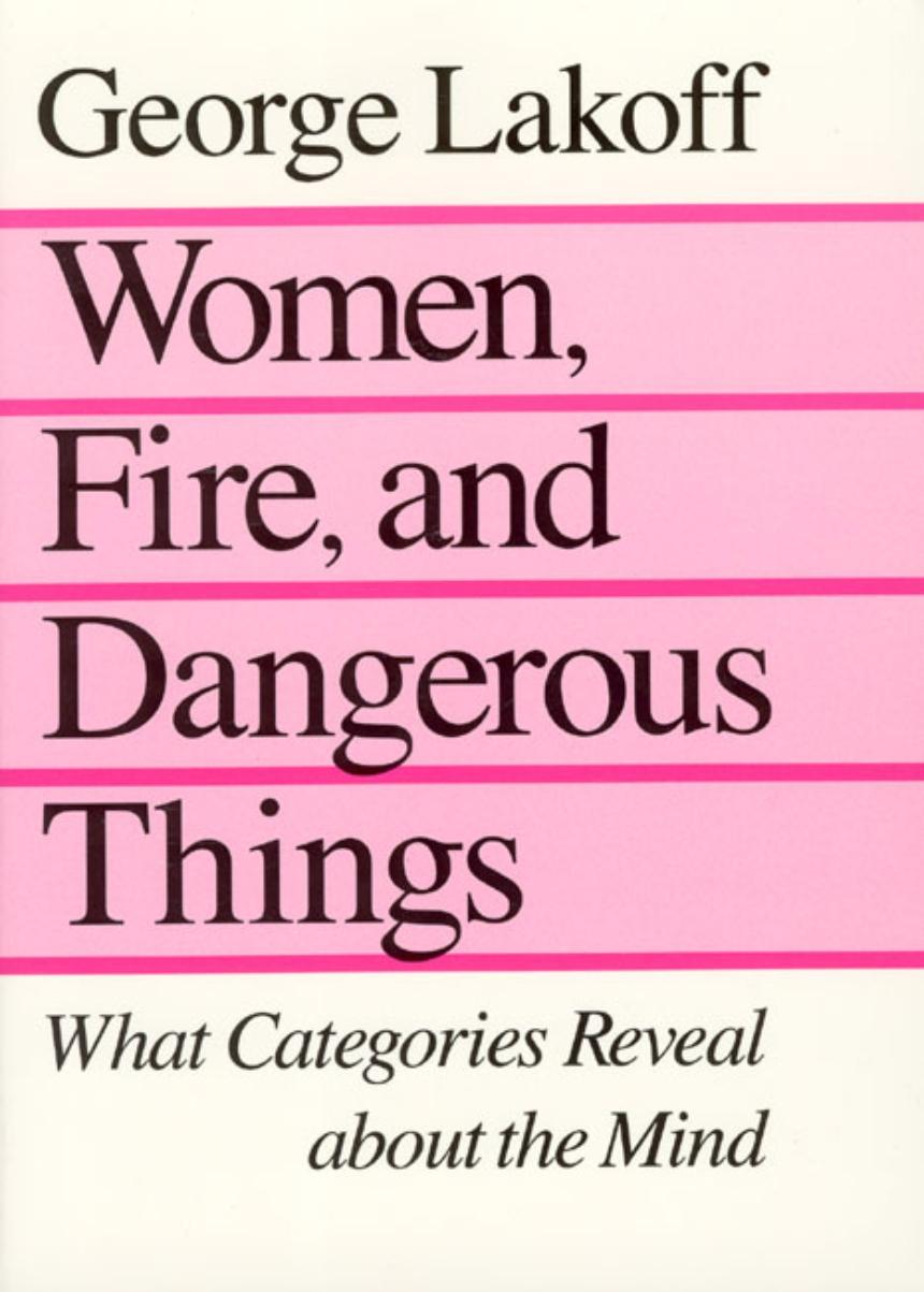 Women, Fire and Dangerous Things