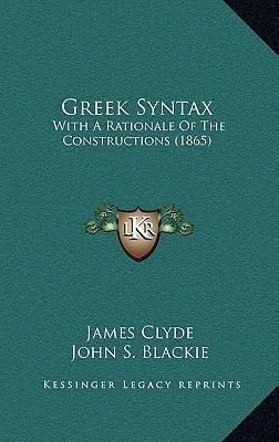 Greek Syntax