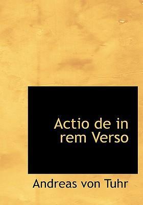 Actio De in Rem Vers...