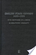 English stage comedy...