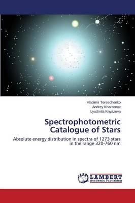 Spectrophotometric Catalogue of Stars