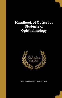 HANDBK OF OPTICS FOR STUDENTS
