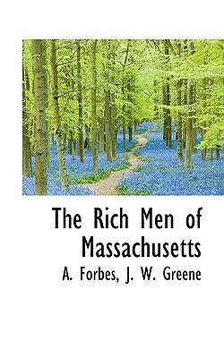 The Rich Men of Massachusetts