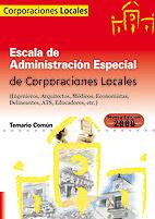 Escala de administración especial de corporaciones locales