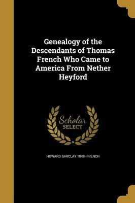GENEALOGY OF THE DESCENDANTS O