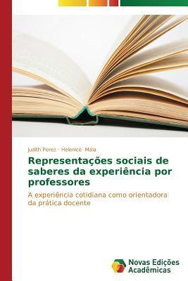 Representações sociais de saberes da experiência por professores