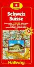 Hallwag Strassenatlanten, Schweiz, CH Touring