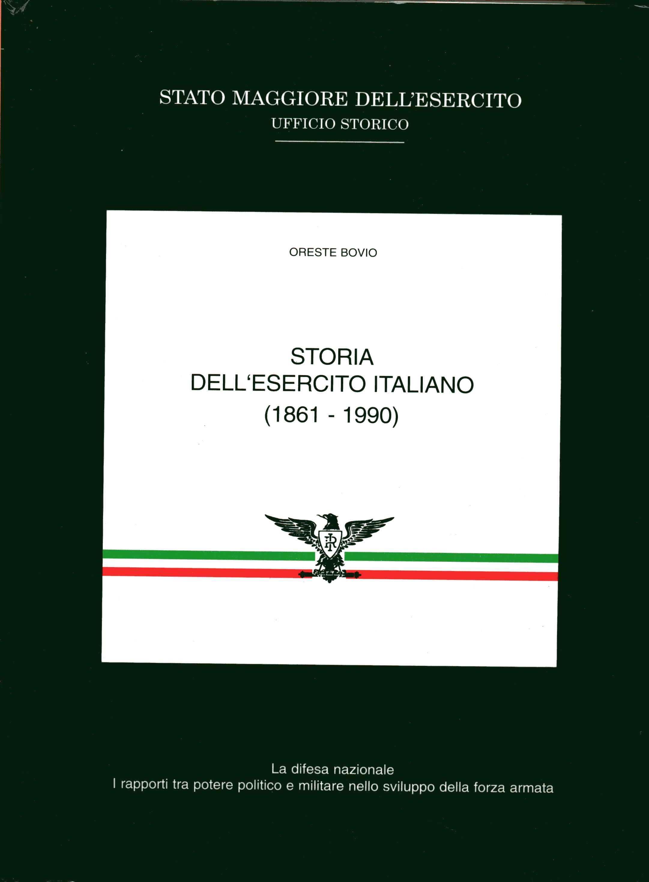 Storia dell'esercito italiano (1861-1990)