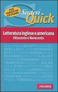 Letteratura inglese e americana