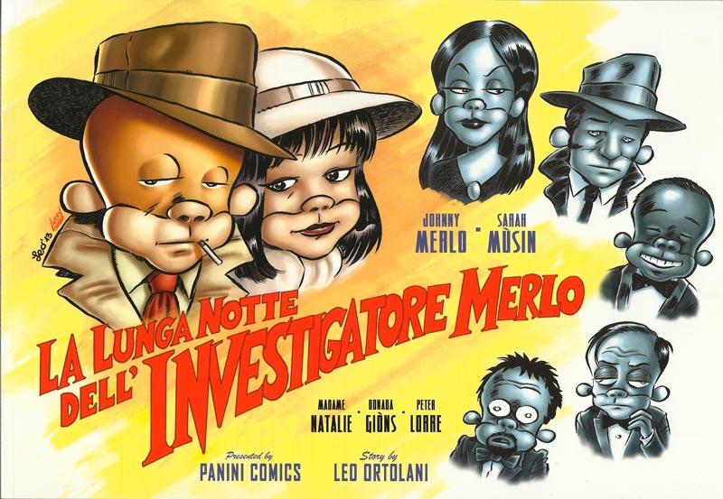 La lunga notte dell'investigatore Merlo