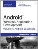 Android Wireless Application Development Volume I: Volume I