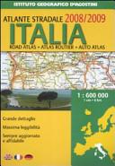 Atlante stradale Italia 1:600.000 2008-2009