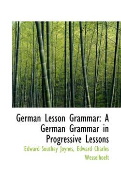 German Lesson Gramma...