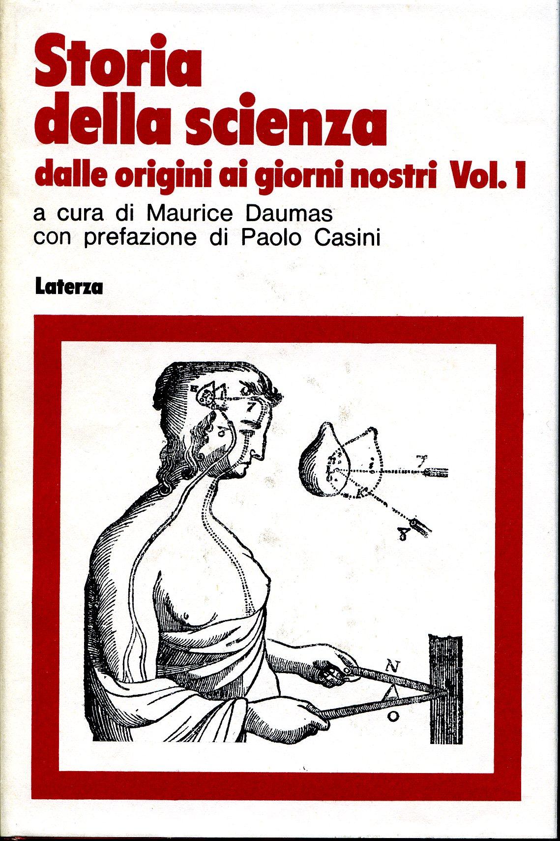 Storia della scienza - vol. 1°