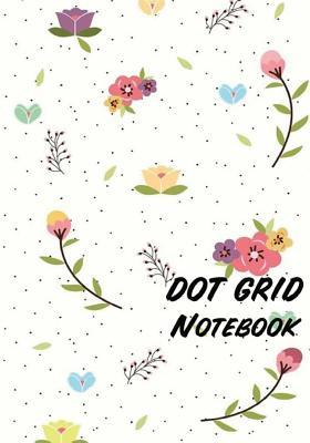 Dot Grid Notebook - Colorful Flowers