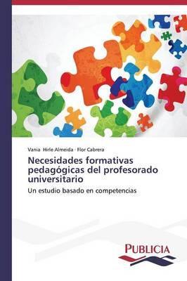 Necesidades Formativas Pedagogicas del Profesorado Universitario