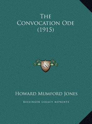 The Convocation Ode (1915)