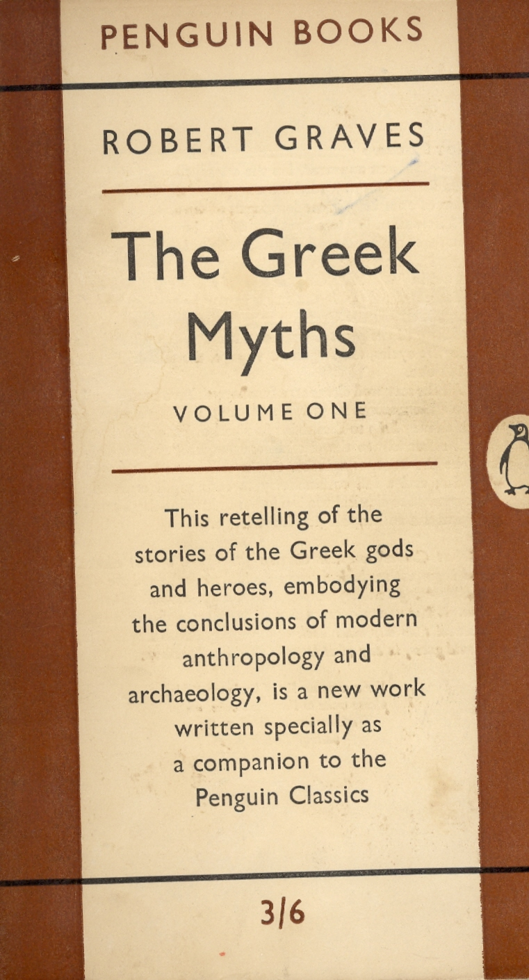 Greek Myths: v. 1